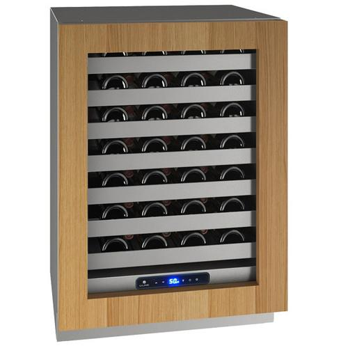 """24"""" Wine Refrigerator With Integrated Frame Finish and Field Reversible Door Swing (115 V/60 Hz Volts /60 Hz Hz)"""
