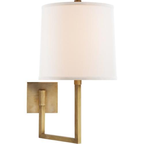 Visual Comfort - Barbara Barry Aspect 14 inch 100.00 watt Soft Brass Swing-Arm Wall Light