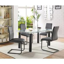 GORDIAS BLACK DINING TABLE