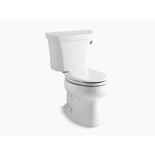 Kohler - Almond Two-piece Elongated 1.6 Gpf Toilet With Right-hand Trip Lever