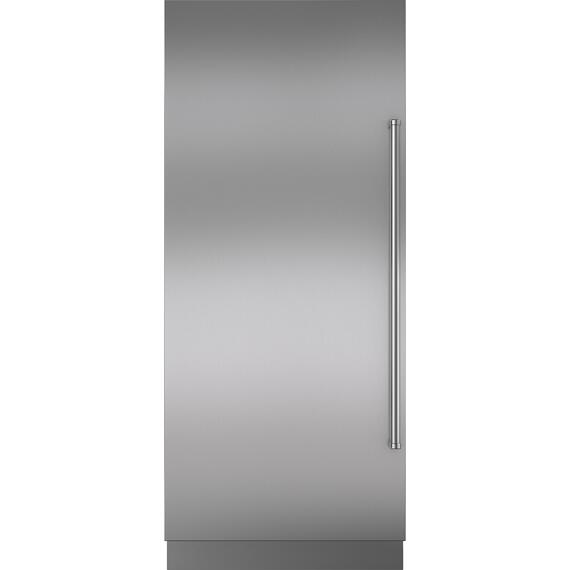 "Sub-Zero - Stainless Steel Door Panel wtih Pro Handle and 6"" Toe Kick - LH"