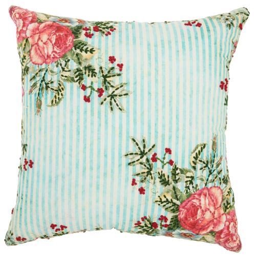 "Life Styles St390 Multicolor 20"" X 20"" Throw Pillow"