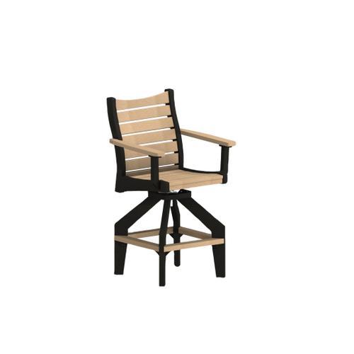 Berlin Gardens - Bristol Swivel Bar Chair