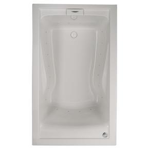 EverClean 60x36 inch Deep Soak Bathtub - White