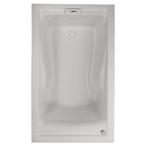 EverClean 60x36 inch Deep Soak Bathtub - White