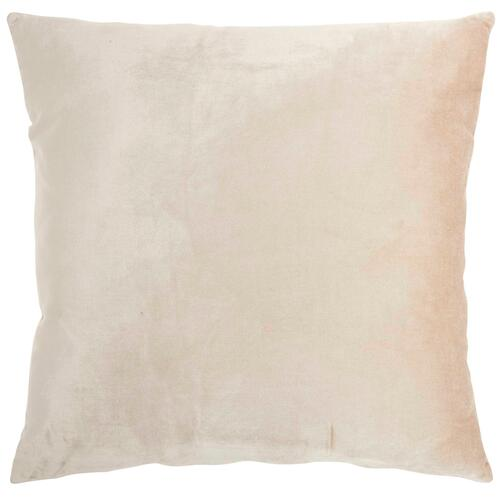 "Luminescence Ac221 Rose Gold 20"" X 20"" Throw Pillow"