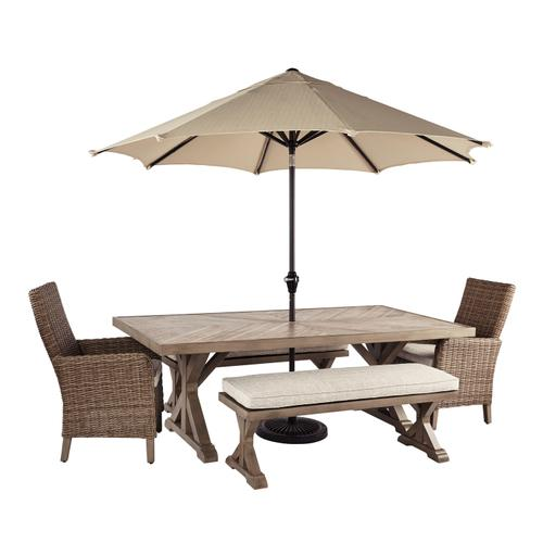 Beachcroft 4 Piece Patio Set Beige