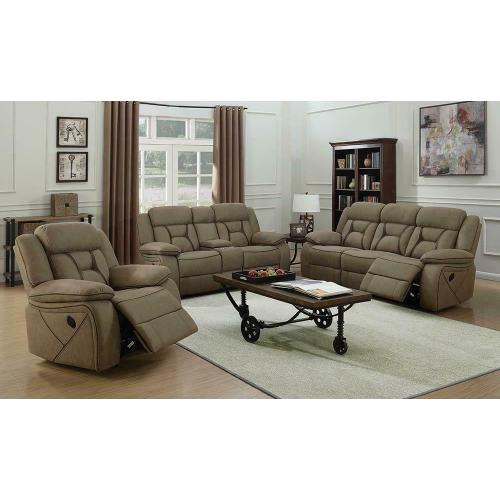 Houston Motion Sofa and Love Seat