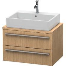 Vanity Unit For Console Compact, European Oak (decor)