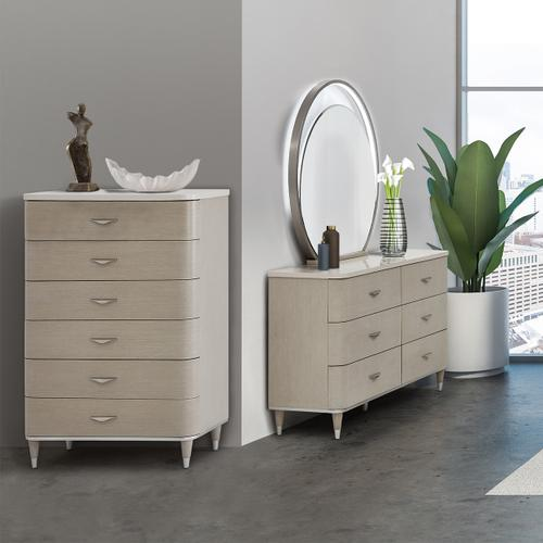 Amini - 6 Drawer Vertical Storage Cabinets-chest of Drawers