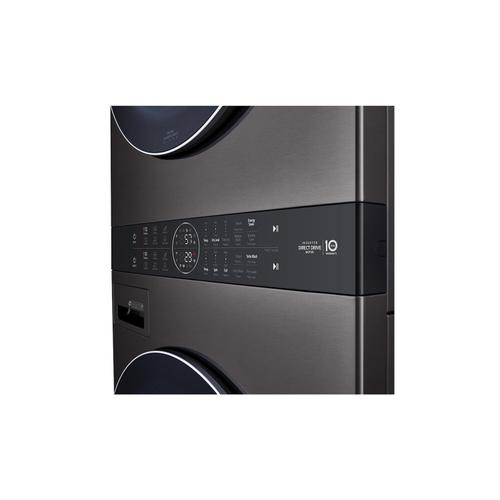 LG Canada - Single Unit Front Load LG WashTower™ with Centre Control™ 5.2 cu. ft. Washer and 7.4 cu. ft. Electric Dryer