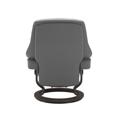 Stressless By Ekornes - Stressless® Live (S) Classic chair with footstool