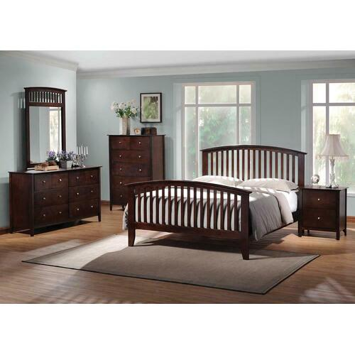 Tia Cappuccino King Bed