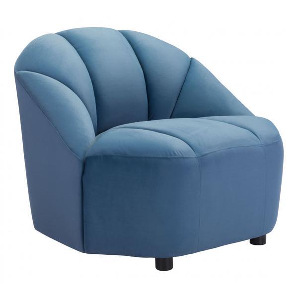 Paramount Accent Chair Dark Blue
