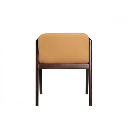 Gallery - Modrest Avrum - Modern Camel Eco-Leather Dining Chair (Set of 2)