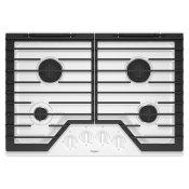 30-inch Gas Cooktop with EZ-2-Lift™ Hinged Cast-Iron Grates White