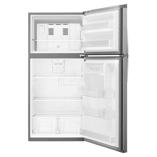 Whirlpool Canada - Whirlpool® 30-inch Wide Top-Freezer Refrigerator - EZ Connect Icemaker Kit Compatible - 19.2 cu. ft.