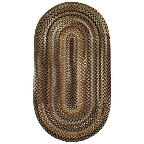 """Capel Rugs - Gramercy Sage - Oval - 8"""" x 28"""""""