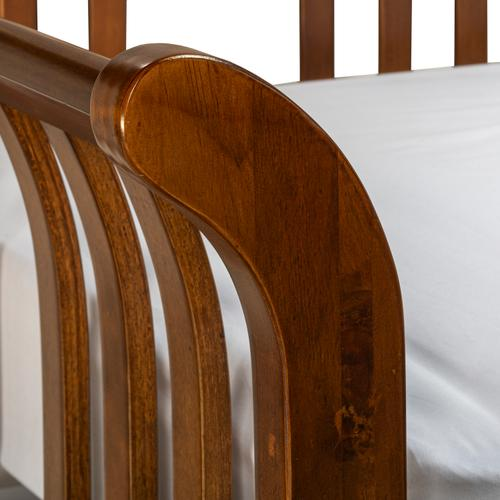 Gallery - Dorchester Wood Daybed With Roll-out Trundle, Walnut