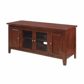 """ACME Christella TV Stand - 10340 - Cherry for Flat Screens TVs up to 60"""""""