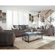 Salizar Transitional Grey Sofa Product Image
