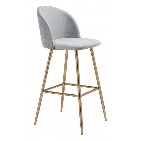 Cozy Bar Chair Gray