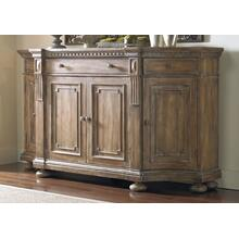 Living Room Sorella Shaped Credenza