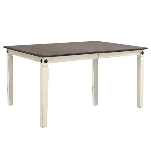Intercon Furniture - Glennwood Dining Table  White & Charcoal