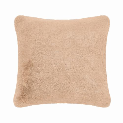 Fun Fur Short Hair Cushion - Rust