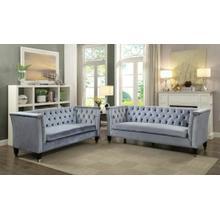 ACME Honor Sofa - 52785 - Blue-Gray Velvet