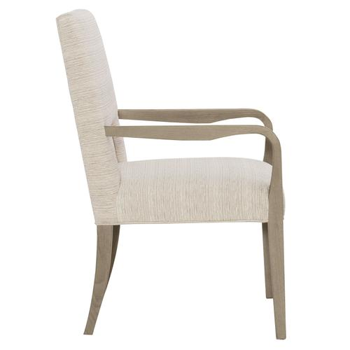 Mosaic Arm Chair in Dark Taupe (373)