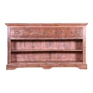 Antique Wood Sideboard Ue34