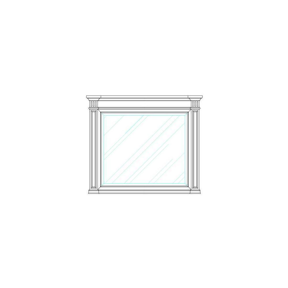 Portico Landscape Mirror - Shell