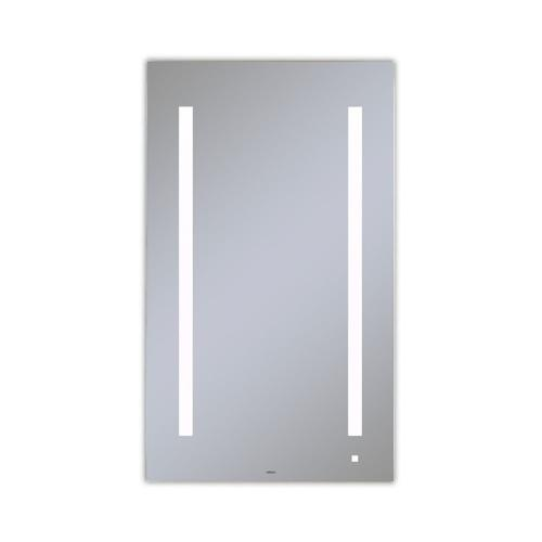 "Aio 23-1/8"" X 39-1/4"" X 1-1/2"" Lighted Mirror With Lum Lighting At 4000 Kelvin Temperature (cool Light), Dimmable, Usb Charging Ports and Om Audio"