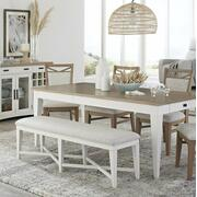 AMERICANA MODERN DINING Bench Counter Upholstered 49 in. Product Image