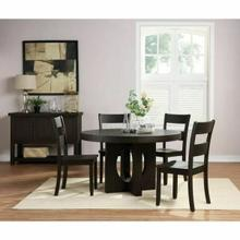 ACME Haddie Dining Table - 72215 - Distressed Walnut