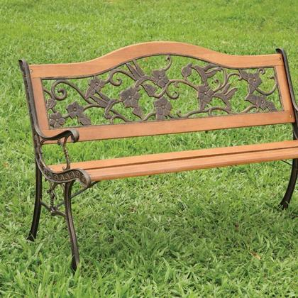 See Details - Alba Patio Bench