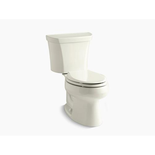 Kohler - Biscuit Two-piece Elongated Dual-flush Toilet With Right-hand Trip Lever