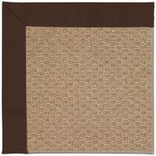 "Creative Concepts-Raffia Canvas Bay Brown - Rectangle - 24"" x 36"""