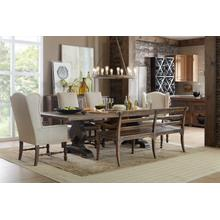 See Details - Hill Country Helotes Dining Bench