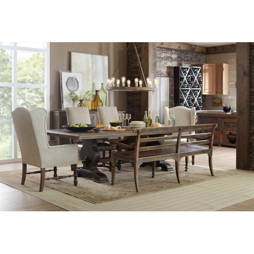 Hooker Furniture - Hill Country Helotes Dining Bench