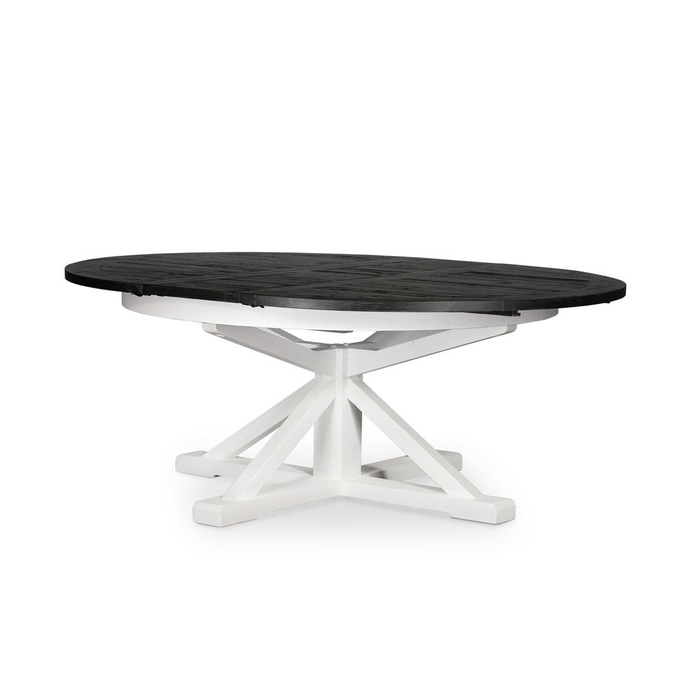 """See Details - 63"""" Size Ink Finish Cintra Extension Dining Table"""