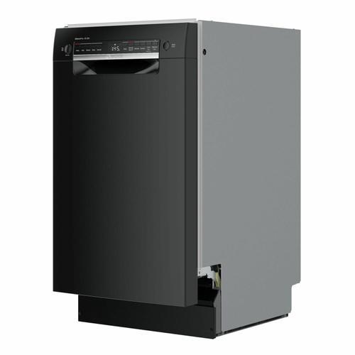 Bosch - 300 Series Dishwasher 17 3/4'' Black SPE53B56UC