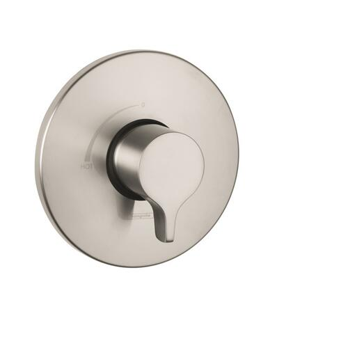 Brushed Nickel Pressure Balance Trim S/E