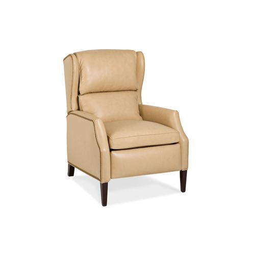 Hancock and Moore - 1065-B-PRB SINCLAIR BUSTLE BACK POWER RECLINER W/BATTERY