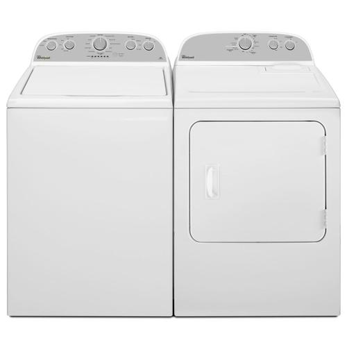 5.9 cu.ft Top Load Gas Dryer with AutoDry Drying System White