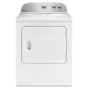 Whirlpool5.9 cu.ft Top Load Gas Dryer with AutoDry Drying System White
