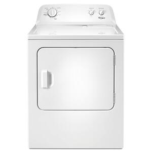 Whirlpool7.0 cu.ft Top Load Electric Dryer with Wrinkle Shield