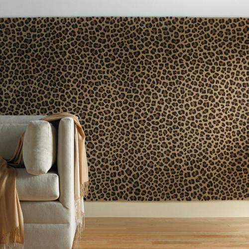 Safari-Leopard Brown - Rectangle - 5' x 8'