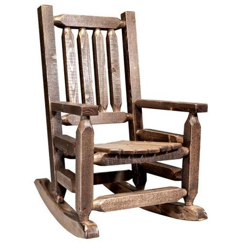 Montana Woodworks - Homestead Collection Childs Rocker, Stain and Lacquer Finish